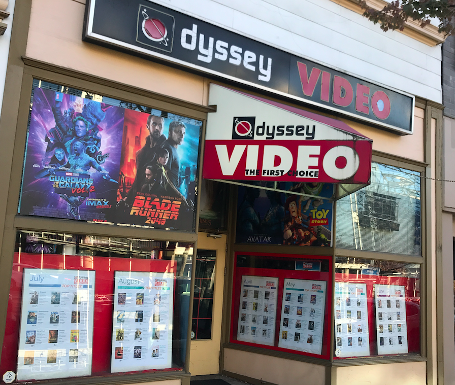 Odyssey Video Rentals Lonsdale Avenue North Vancouver
