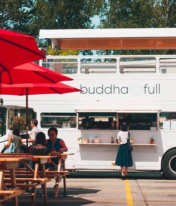 Buddha Full Provisions Double Decker Bus Festival