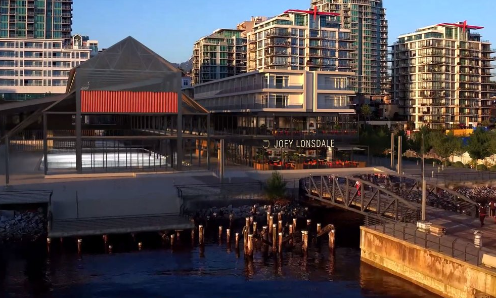 Joey Restaurant North Vancouver Shipyards Lonsdale Quay Waterfront