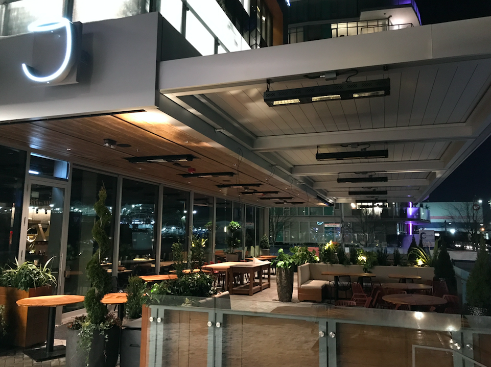 Main Floor Outdoor Patio Joey Restaurant North Vancouver Shipyards District