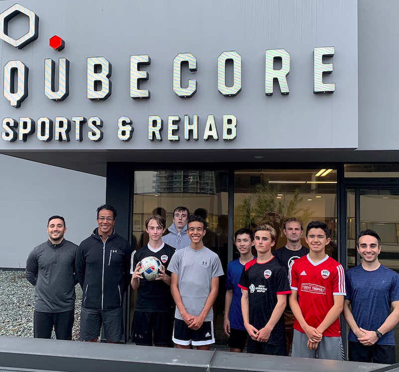 QubeCore Sports Rehab North Vancouver