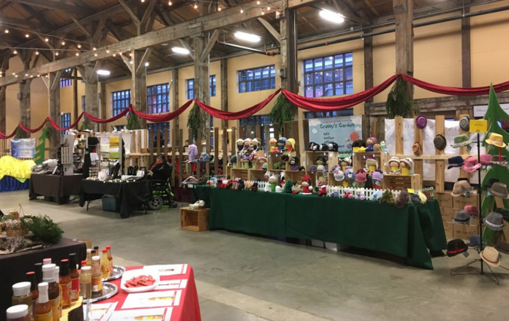 Shipyards Christmas Market Artisanal Vendors North Vancouver