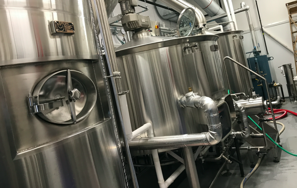 Stainless Steel Brewing Equipment North Point Brewing Lower Lonsdale