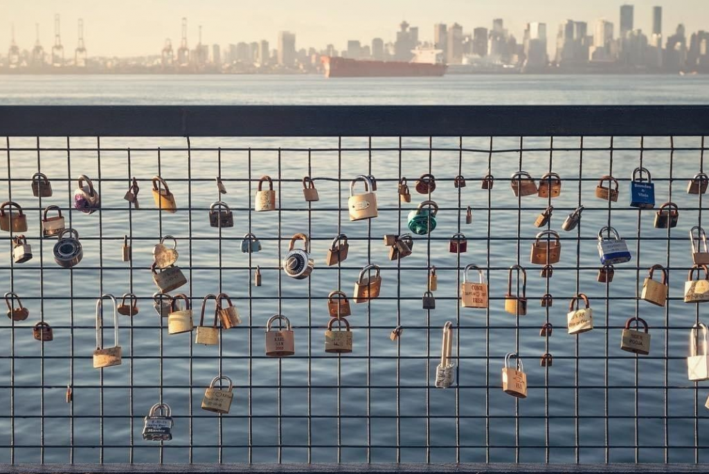 Lonsdale Quay Love Locks