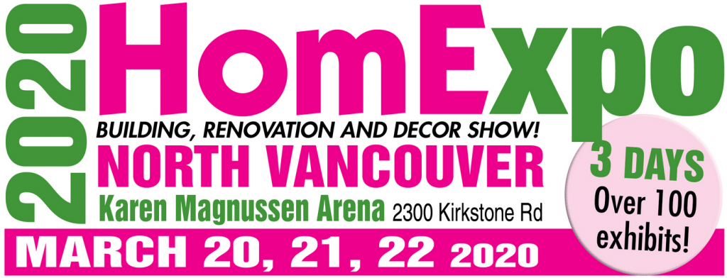 2020 Home Expo North Vancouver Flyer