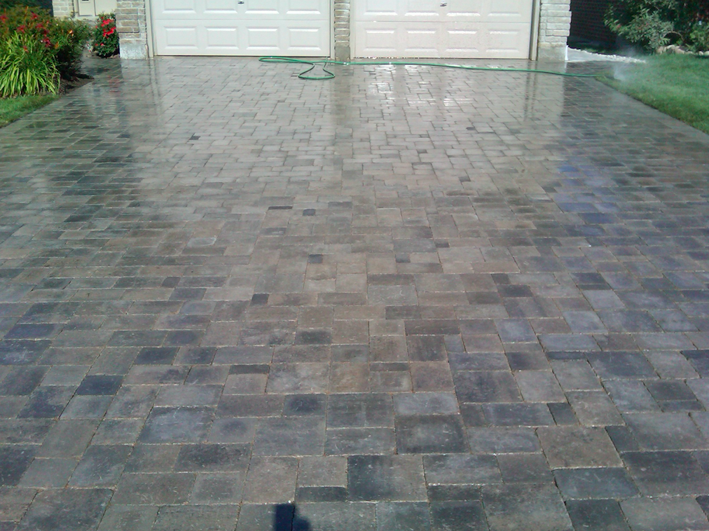 Custom Stone Tile Driveway Landscaping North Vancouver British Columbia Canada with Innate Projects