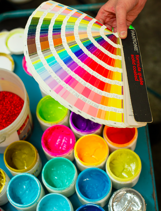 Orion Screenworks Printing Colours
