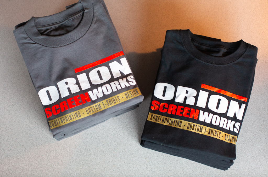 Orion Screenworks T Shirt Designs and Printing