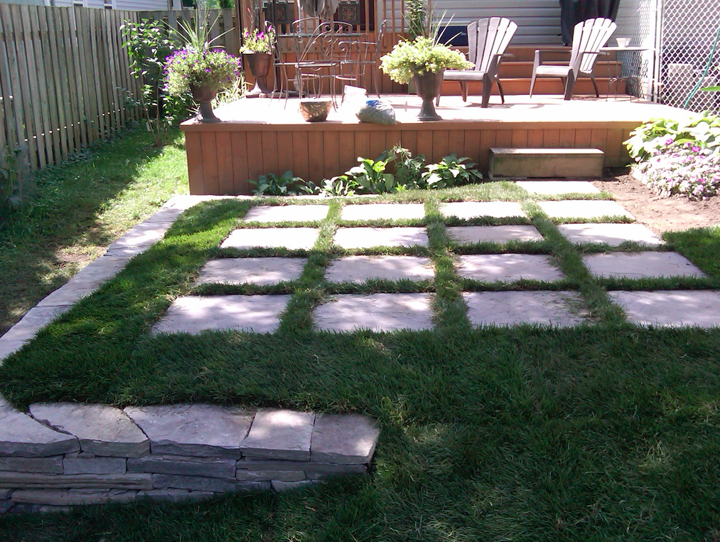 Patio Stone Garden Landscaping North Vancouver British Columbia Canada with Innate Projects