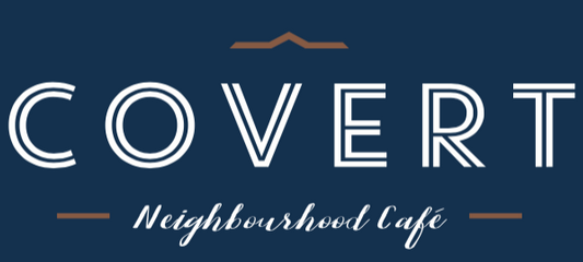 Covert Cafe Bakery Deep Cove North Vancouver British Columbia Canada Logo