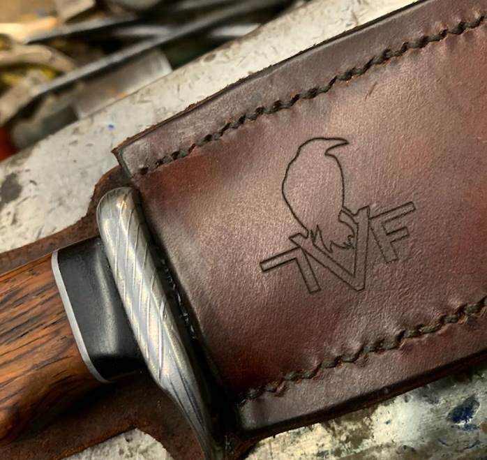 Lynn Valley Forge Blacksmith Custom Knives North Vancouver British Columbia Canada Logo