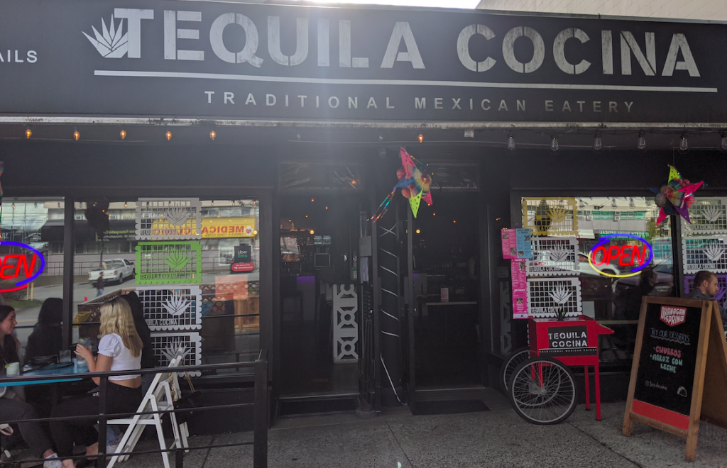 Tequila Cocina Mexican Food Restaurant Granville Street downtown Vancouver British Columbia Canada 3